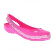 Sapatilha Infantil Crocs Genna II Hearts Flat