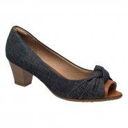 Sapato Feminino Piccadilly Peep Toe