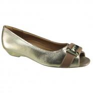 Sapato Feminino Usaflex Peep Toe