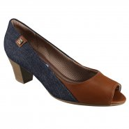 Sapato Peep Toe Piccadilly MaxiTherapy
