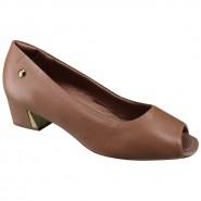 Sapato Usaflex Peep Toe