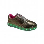 Tênis Infantil Ortopé Color Com Luz de LED