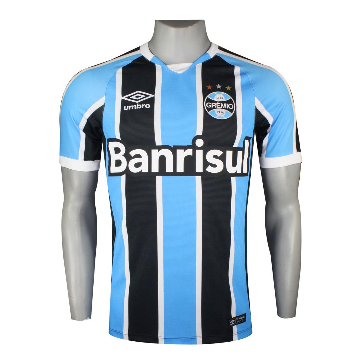 Empresário vaza suposta nova camisa do Grêmio  veja fc9eb3697f711