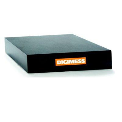 Desempeno de Granito Preto Classe 0 - 400x400x70mm - Digimess