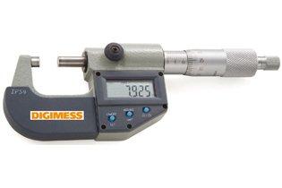 Micrômetro Externo Digital IP54 - 25-50mm - Leit. 0,001mm - Digimess