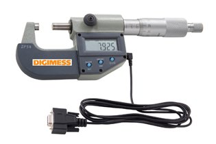 Jogo de Micr�metros Externos Digitais IP54 (3 pe�as) - 0-75mm - Leit. 0,001mm - Digimess