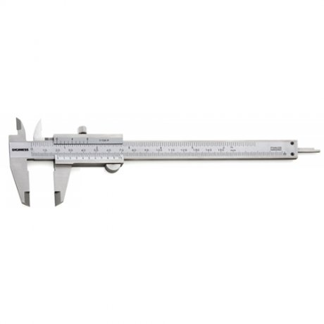 Paquímetro Universal Quadrimensional Com Guia de Titânio - 150mm - Leit. 0,05mm - Digimess