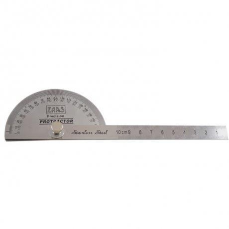 Transferidor Tipo Meia Lua (Goniômetro) - 0 a 180º - Zaas