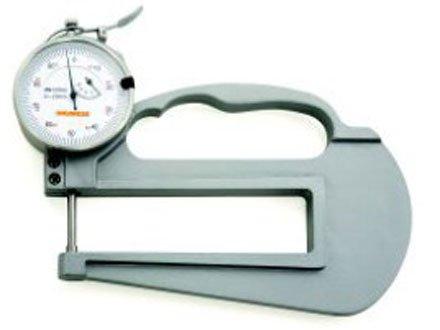 Medidor de Espessura (Pontas em Aço Ø 10mm - Arco 120mm) - 0-10mm - Leit. 0,01mm - Digimess