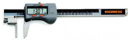Paquímetro Digital para Tubos - 300mm - Leit. 0,01mm - Digimess