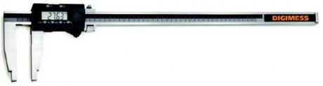 Paqu�metro Digital  (Bicos 200mm) - 600mm - Leit. 0,01mm - Digimess