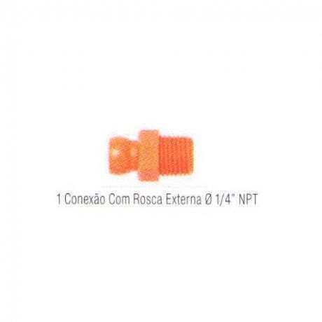 Jogo Conexão Rosca Externa NPT 17-A - Fixoflex