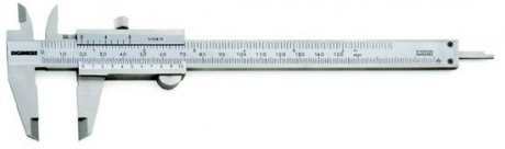 Paqu�metro Universal Quadrimensional - 150mm - Leit. 0,02mm - Digimess