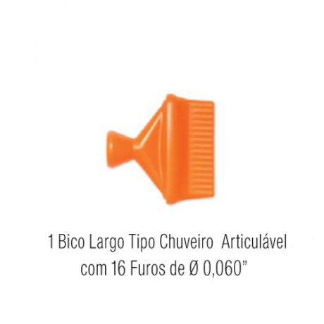 Super Jogo Bico Largo Tipo Chuveiro 9-A - Fixoflex
