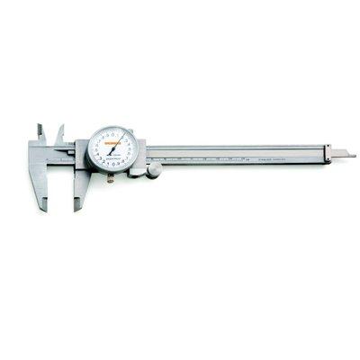 Paquímetro com Relógio - 150mm - Leit. 0,02mm - Digimess