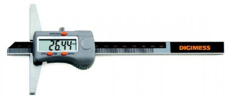 Paqu�metro Digital de Profundidade - 300mm - Leit. 0,01mm - Digimess