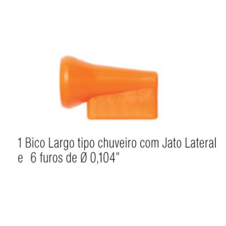 Jogo Bico Largo Tipo Chuveiro 14-A - Fixoflex