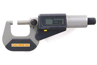 Jogo de Micrômetros Externos Digitais IP40 (4 peças) - 0-100mm - Leit. 0,001mm - Digimess