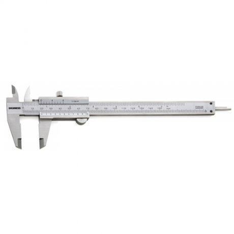 Paqu�metro Universal Quadrimensional Com Guia de Tit�nio - 200mm - Leit. 0,02mm - Digimess