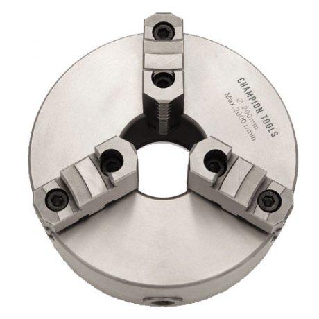 Placa para Torno com 3 Castanhas Sobrepostas Reversíveis - 500mm - Champion Tools
