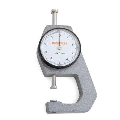 Medidor de Espessura de Bolso - 0-10mm - 0,1mm - Digimess