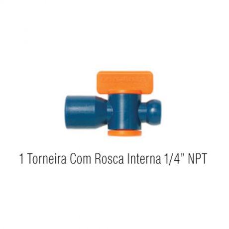 Jogo Torneira com Rosca 21-A- Fixoflex