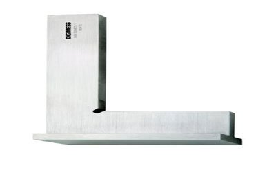 Esquadro de Precisão com Base - Classe 1 - 75 x 50mm - Digimess