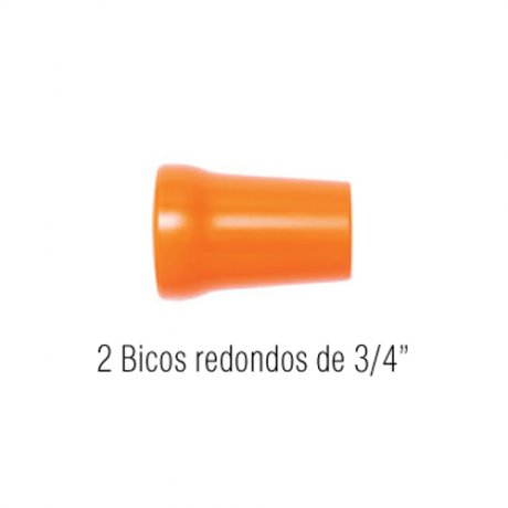 Jogo Bicos Redondos 3/4