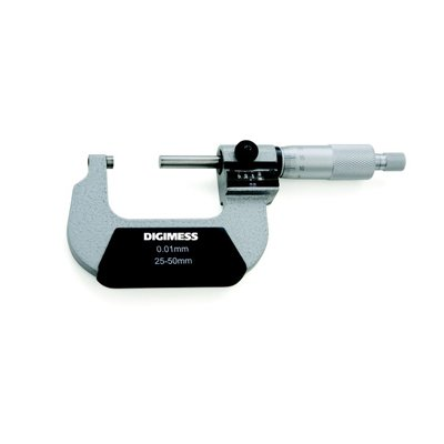 Micrômetro Externo (Contador Mecânico) - 25-50mm - Leit. 0,01mm - Digimess