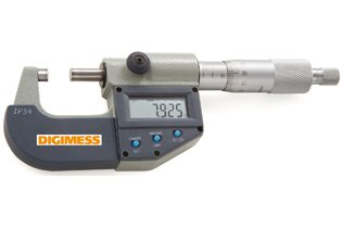 Micrômetro Externo Digital IP54  - 75-100mm - Leit. 0,001mm - Digimess