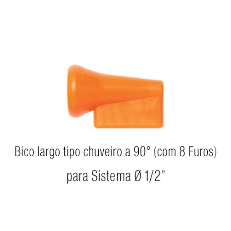 Jogo Bico Largo tipo Chuveiro 14-L - Fixoflex