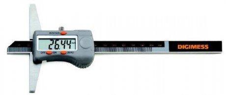 Paqu�metro Digital de Profundidade - 150mm - Leit. 0,01mm - Digimess