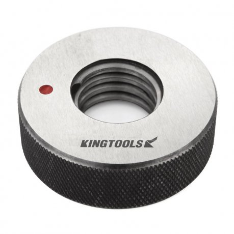 Calibrador de Rosca Anel Não-Passa (M)-6G M7x1 - Kingtools