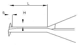 Medidor Interno com Rel�gio - 40-50mm - Leit. 0,01mm - Digimess