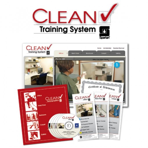 Clean Check - Treinamento Profissional Em Limpeza 8 DVD´s - Spartan