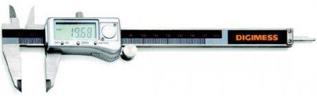 Paquímetro Digital com Caixa Metálica - 300mm - Leit. 0,01mm - Digimess