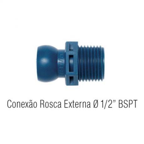 Jogo Conexão Rosca Externa 8-L - Fixoflex
