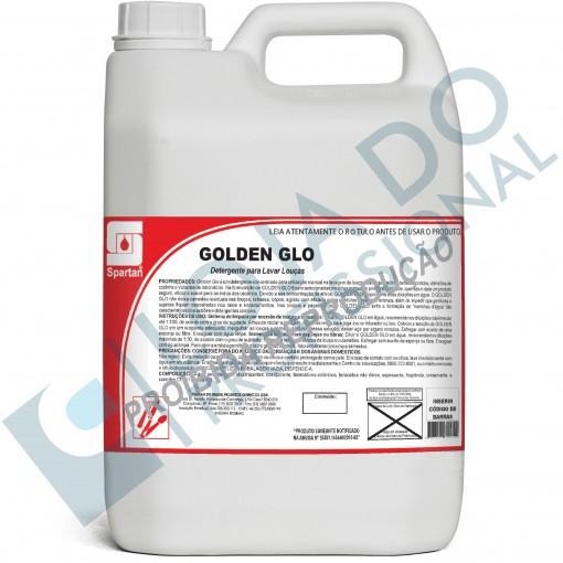 Detergente neutro para louças - Golden Glo - 5 Litros - Spartan