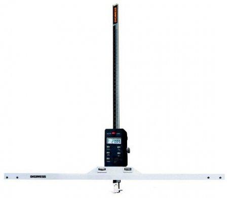 Paquímetro Digital de Profundidade (Base de Apoio Grande) - 600mm - Leit. 0,01mm - Digimess