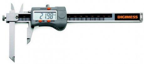 Paquímetro Digital (Bico Ajustável) - 300mm - Leit. 0,01mm - Digimess