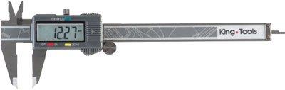 Paqu�metro Digital - 300mm - Leit. 0,01mm - Kingtools