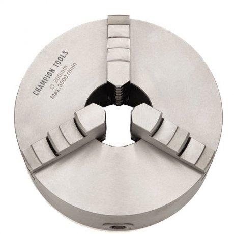Placa para Torno com 3 Castanhas Universais (Ferro Fundido) - 250mm - Champion Tools