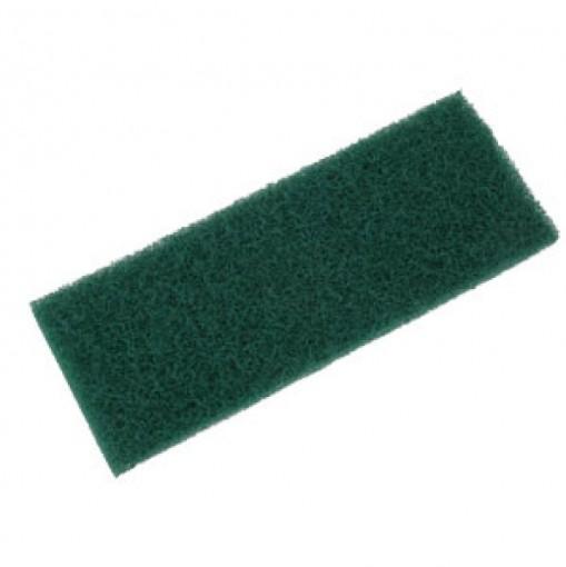 Fibra limpeza pesada verde 260mmx102mm - 10 unidades