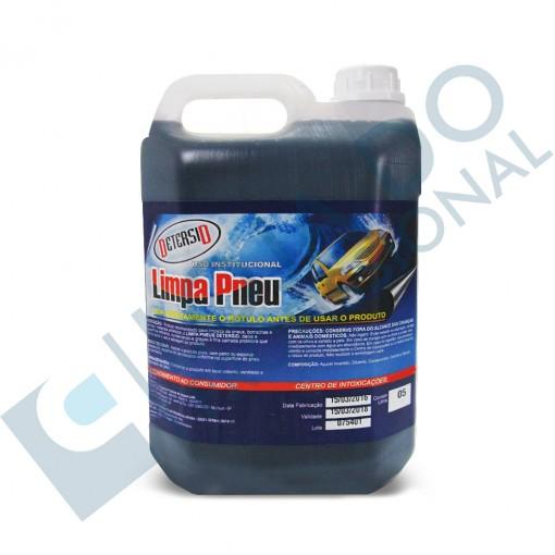 Limpa Pneu (Pretinho Pronto Uso) - 5 litros - Detersid