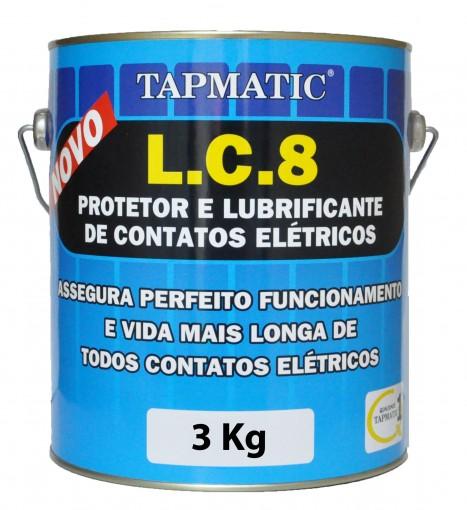 Protetor para contatos el�tricos LC8 - 3Kg - Tapmatic