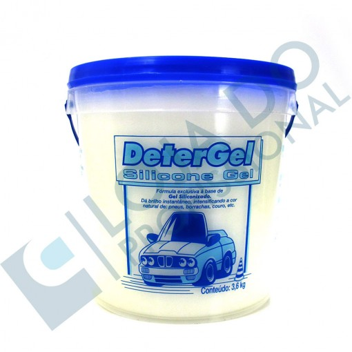 Silicone em Gel (Balde) - 3,6kg  - Detersid