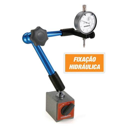 Suporte Magnético Articulado com Fixação Hidráulica- Digimess - 270.241