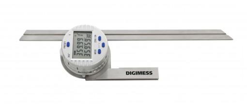 Goniômetro Digital - Transferidor (Régua 300mm) - 170.072 - Digimess