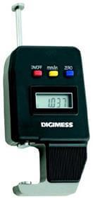 Medidor de Espessura Digital (Pontas 9mm) - 0-15mm - Leit. 0,01mm - Digimess