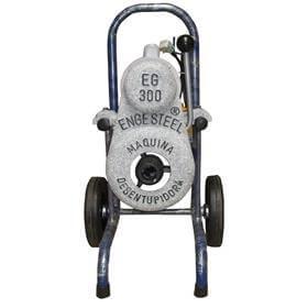 Máquina Desentupidora EG-300 (bivolt) com Kit - Engesteel